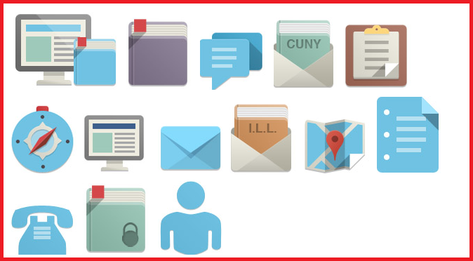 The Icons used for Icons library makes the website design way more impactful